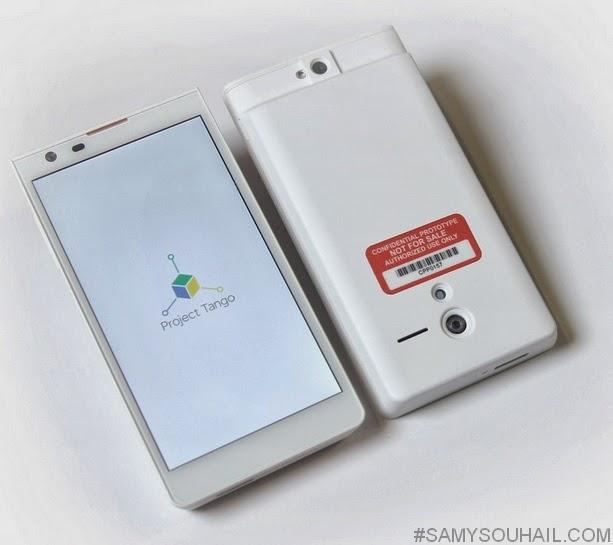 هاتف ذكي ثلاثي الأبعاد بـ4 كاميرات من جوجل..