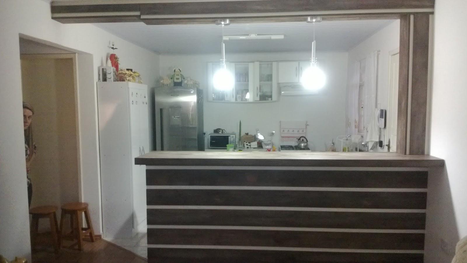 Marcenaria Result 2015 ~ Bancada Divisoria Sala Cozinha