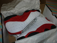 Air Jordan XIII - Red and White