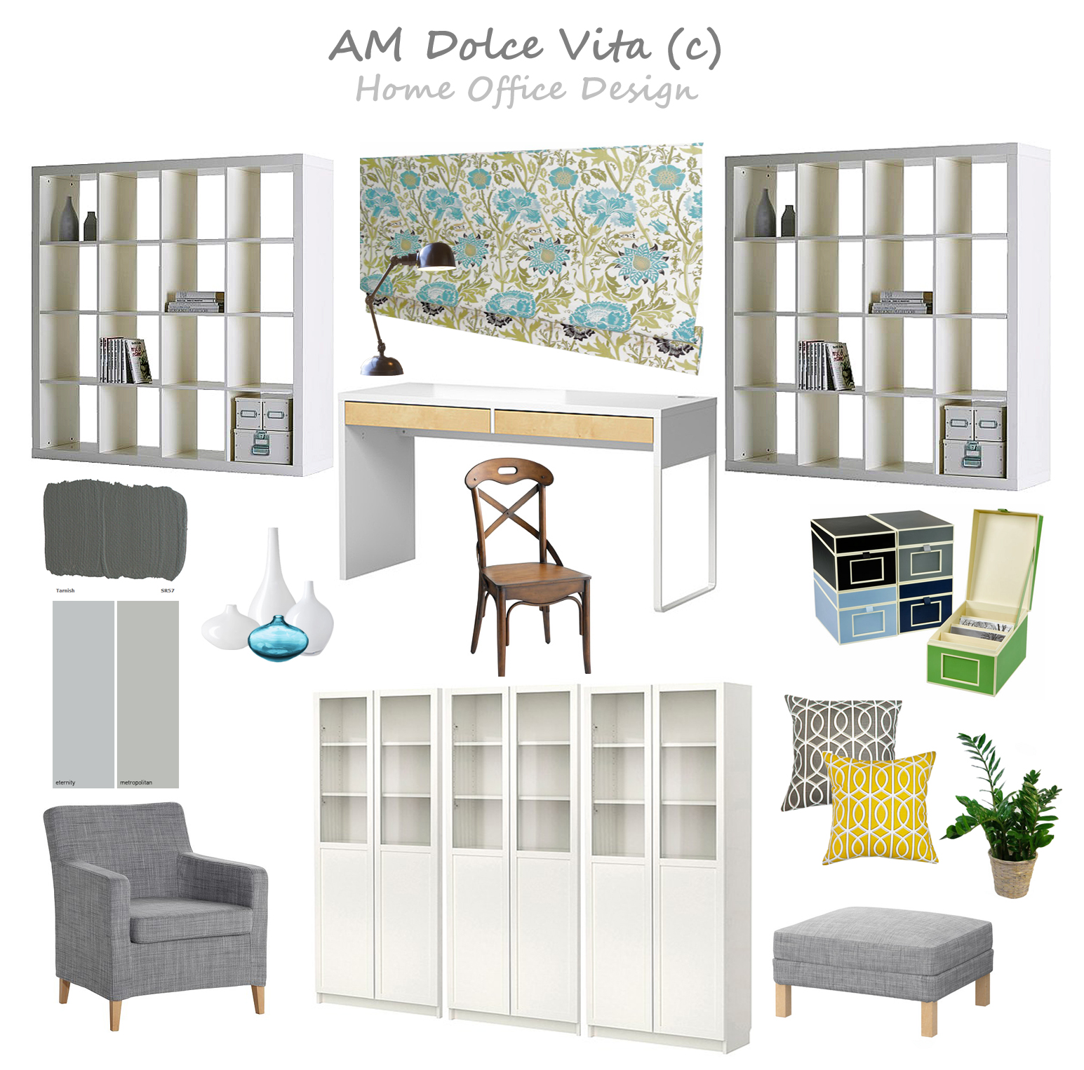 AM Dolce Vita: Next Project...Home Office