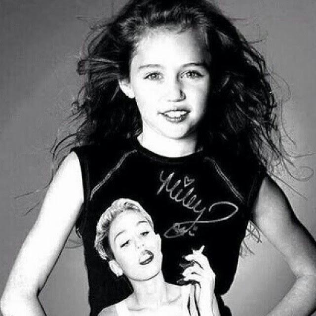 Miley Cyrus viajo en el tiempo