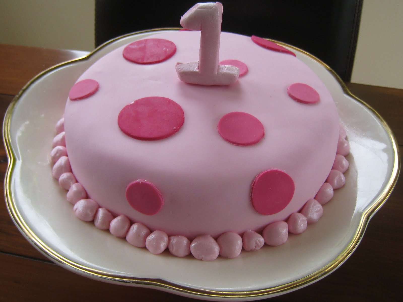 First Birthday Cake Recipes Black And White Birthday Cakes