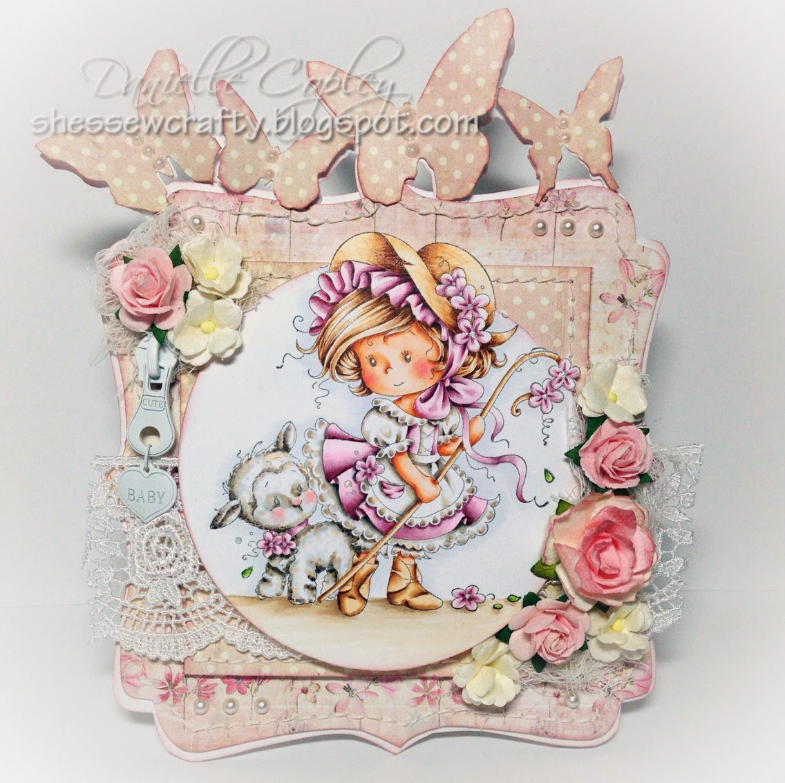 Scrapbook Maven Prima Princess Whimsy Stamps Wee Stamps Mary