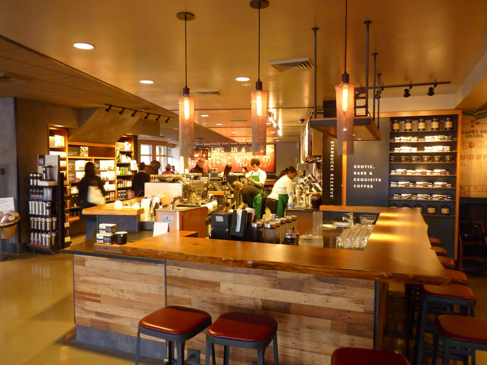 Madison park blogger starbucks revamp complete for Coffee shop design software