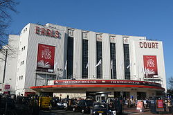 Earls Court exhibition centre London