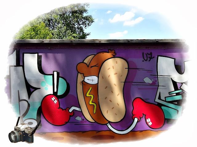 Gastronomiczny mural Jerozolimskie 120