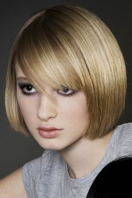 page boy short bob hairstyle