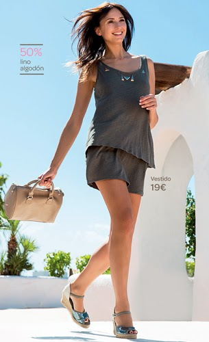 Carrefour Tex primavera verano 2015 by Mayte de la Iglesia ropa mujer sandalias bolso bloggers de moda
