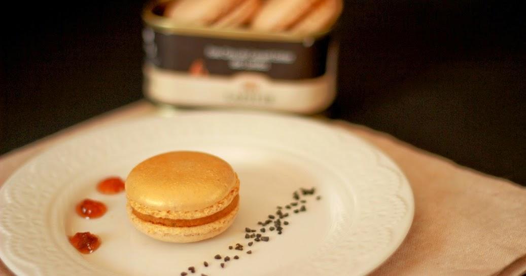 Chez m lusine macarons au foie gras lafitte partenariat - Maison lafitte foie gras ...