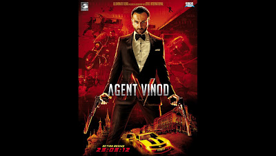 Agent Vinod: Fresh Hot HQ Wallpaper | Starring Saif Ali Khan