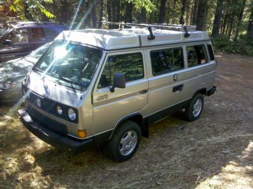 1990 vw volkswagen syncro vanagon westfalia camper 4x4 cars