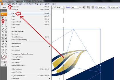 Memotong dan menyisipkan objek dalam dokumen yang berbeda