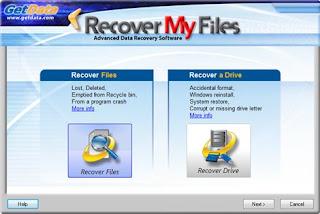 Recuperar datos borrados