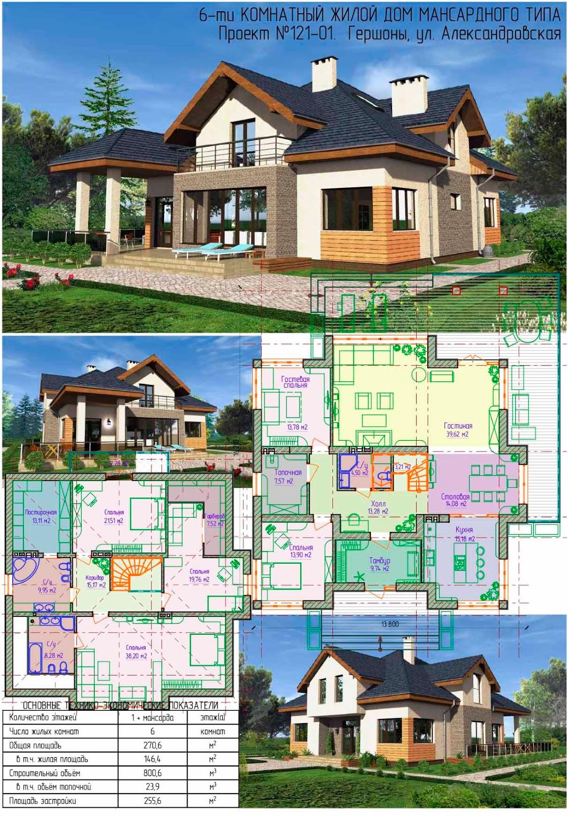 Дома из бруса 6x6, проекты домов 6 на 6, цены
