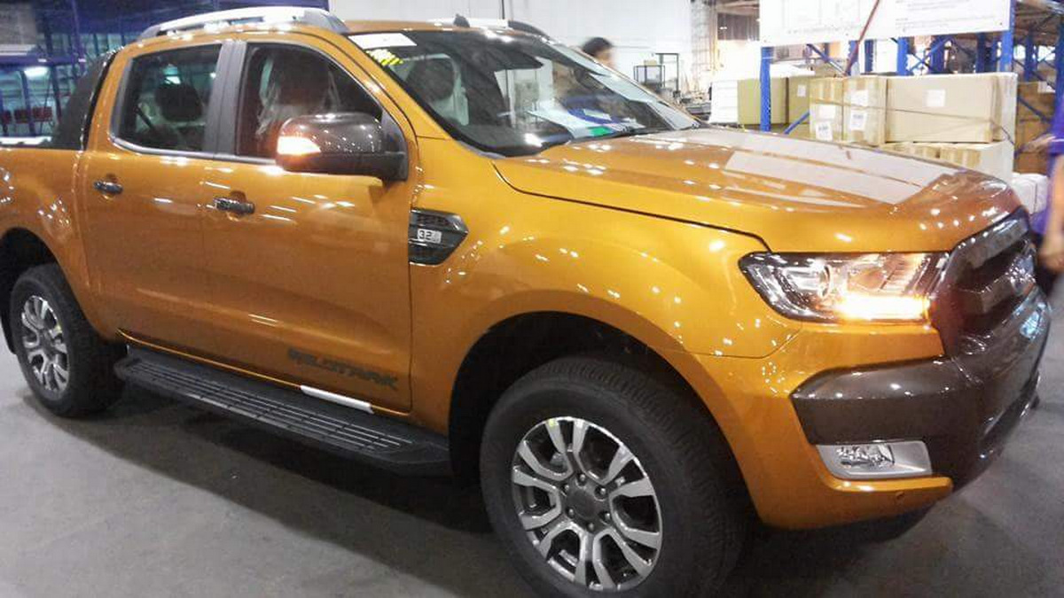 2015 Ford Ranger Wildtrack Facelift Reveals Itself On The Road Fuse Box Diagram Image Details Carscoops