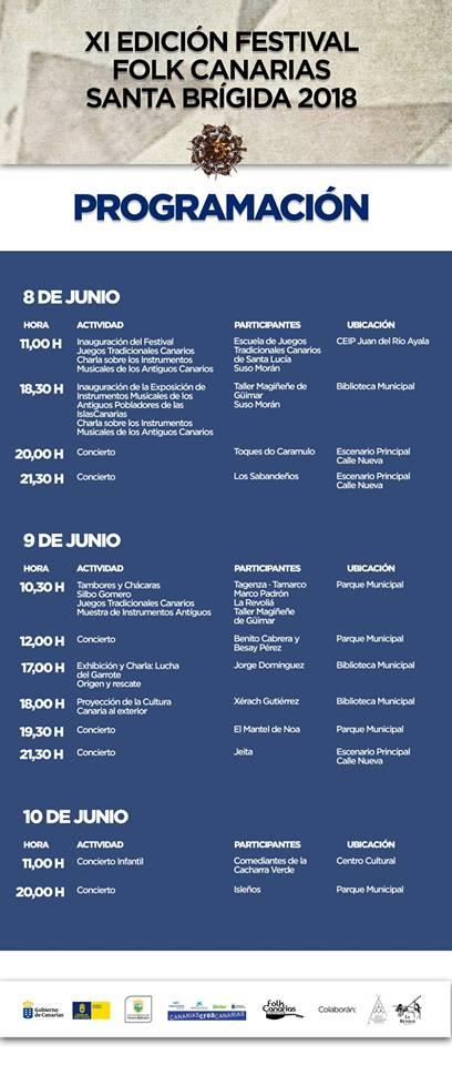 XI EDICION FESTIVAL FOLK SANTA BRIGIDA