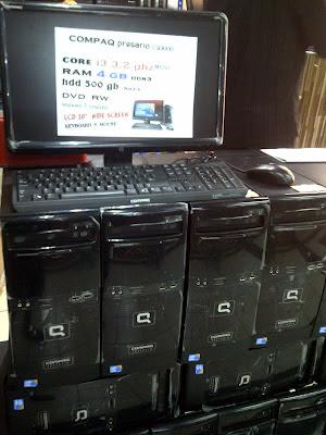 Compaq Presario CQ3000 Series Ci3 komputer built-up uberma computer