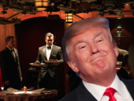 The 21 CLUB is DONALD TRUMP'S Favorite Restaurant