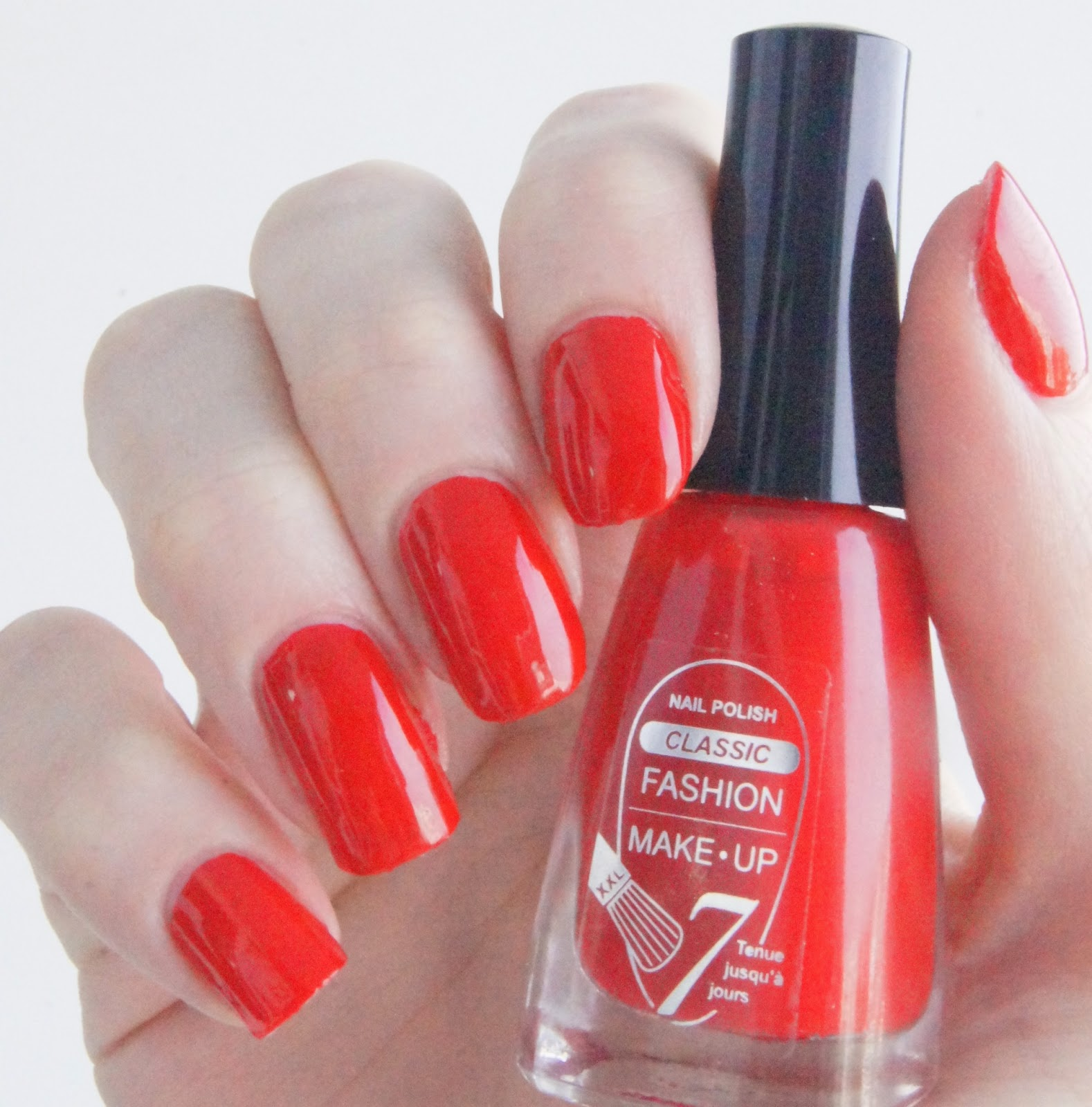 vernis rouge glamour