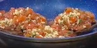 Receta Portobellos gratinados
