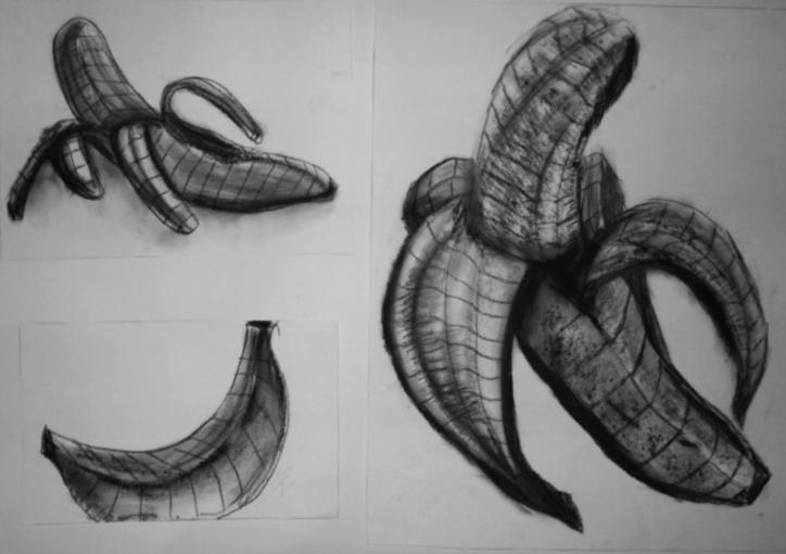 Contour Line Drawing Fruit : Art tony le contours