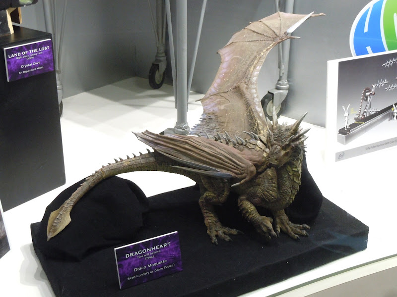 Draco maquette Dragonheart movie