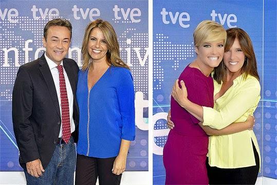 Presentadores de los telediarios de TVE