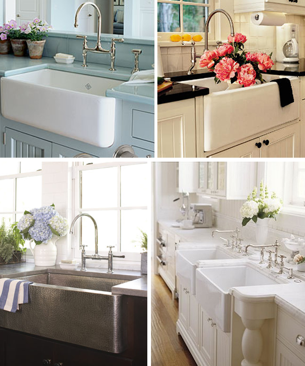 Country Farm Sink : ... farm sink and amazing country kitchen curtain designs images amctour
