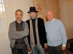 Con Echanove e Imanol