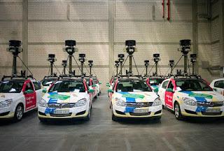 google cars street view