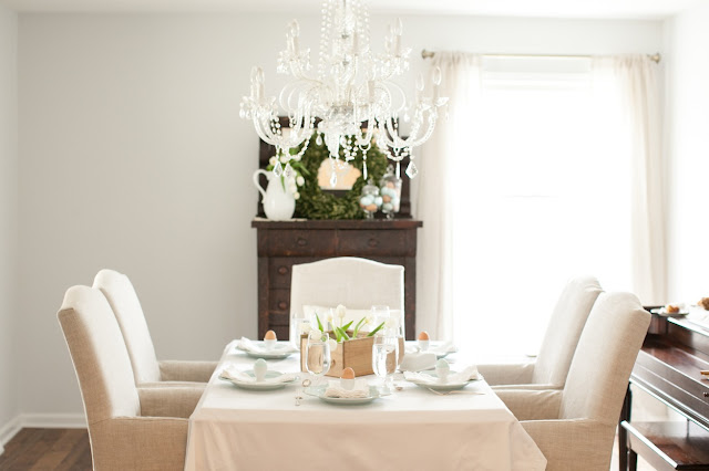 Easter Brunch & Table Setting
