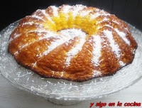 CAKE DE CALABAZA Y COCO CON SIROPE DE ÁGAVE