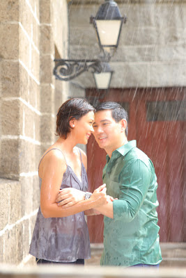 TV Series Love Teams are Feature in the Kapamilya 2012 Ulan Station ID