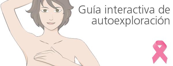 Guía de auto-exploración de la mama (Hospital Quirón)