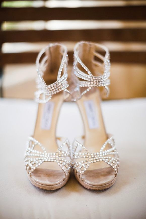 glamorous open toe wedding shoes bride wedding day inspiration