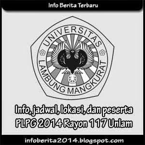 Info, jadwal, lokasi, peserta PLPG 2014 Rayon 117 Unlam