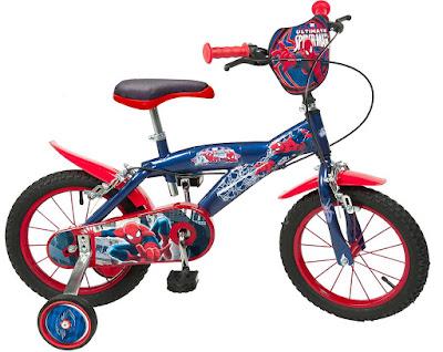 TOYS - JUGUETES - MARVEL   Ultimate Spider-Man - Bicicleta Infantil  Toimsa | Serie de Television | Comprar en Amazon España