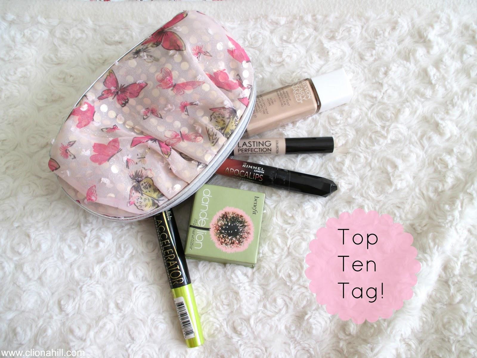Top ten tag