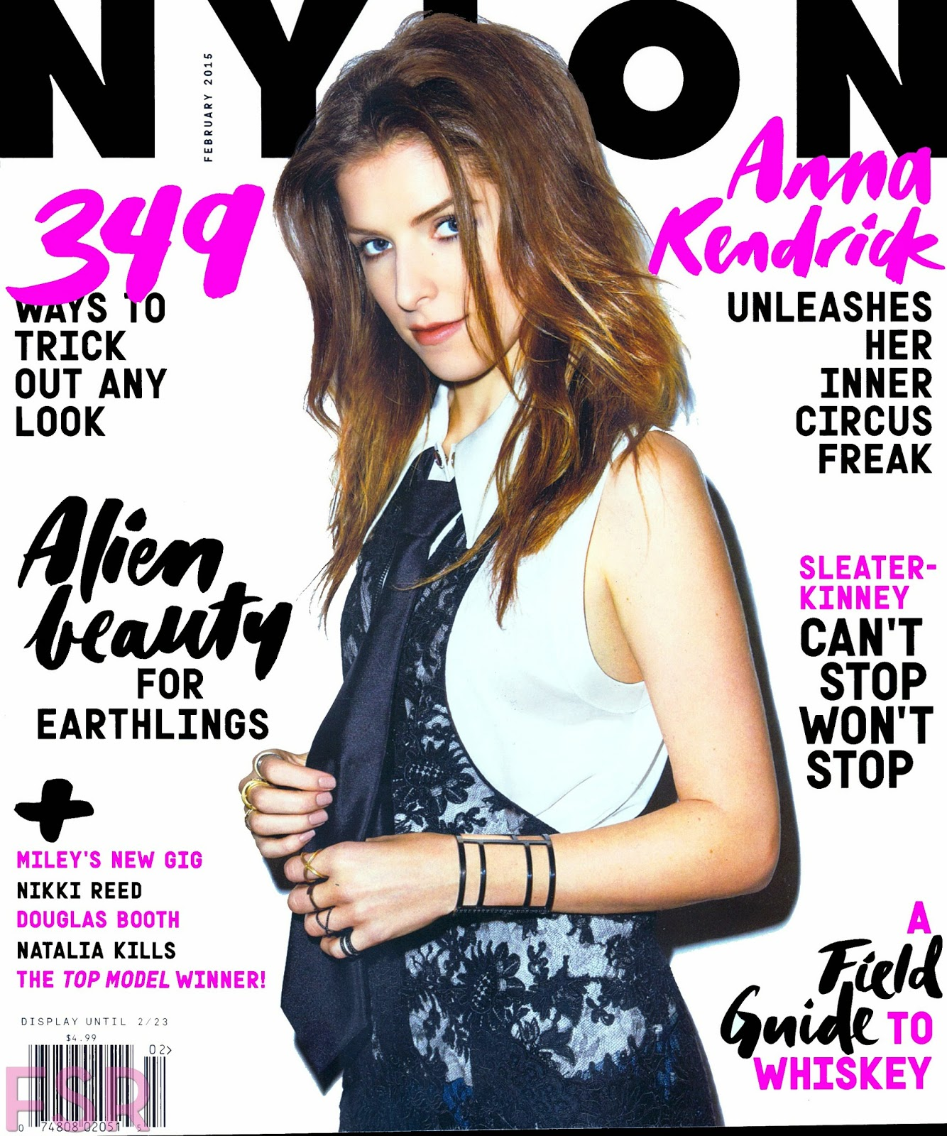 Anna Kendrick, Nikki Reed - Nylon, USA, February 2015