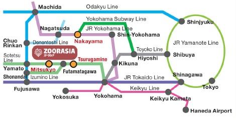 ZOORASIA YOKOHAMA ZOOLOGICAL GARDENS