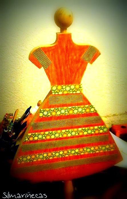 maniquí de manulaidades para decorar