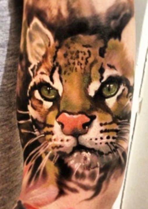 Baby Tiger Tattoos for Women