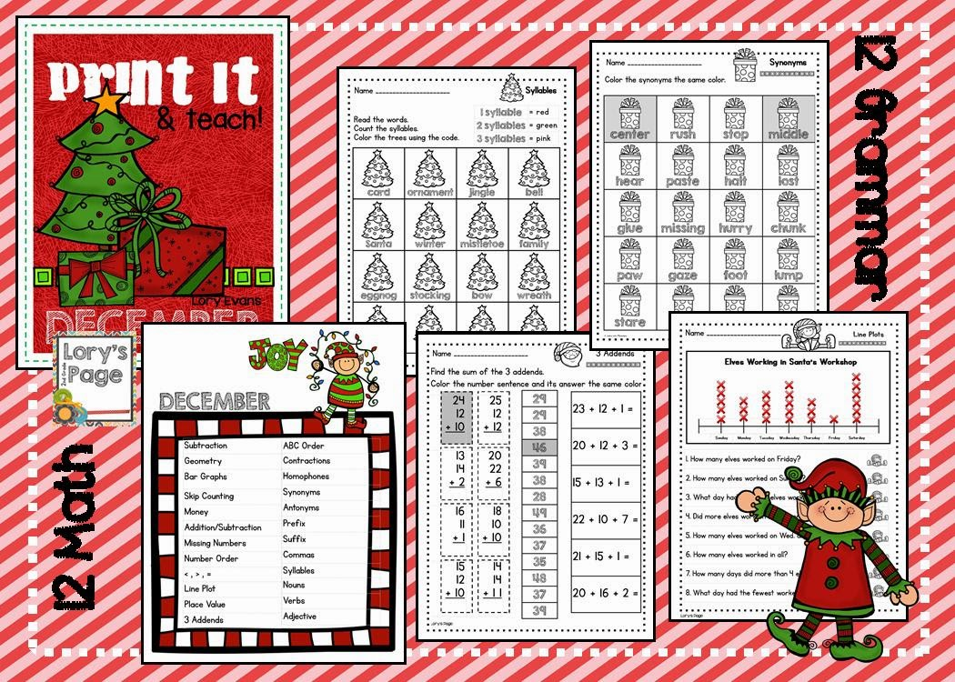 https://www.teacherspayteachers.com/Product/PRINT-it-Teach-DECEMBER-1550078