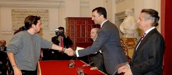 pablo iglesias Rey Felipe VI de casta a Jefe de Estado