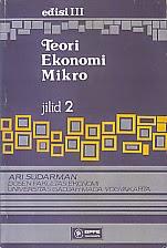 toko buku rahma: buku TEORI EKONOMI MIKRO Ed.3 Jilid 2, pengarang ari sudarman, penerbir BPFE Yogyakarta