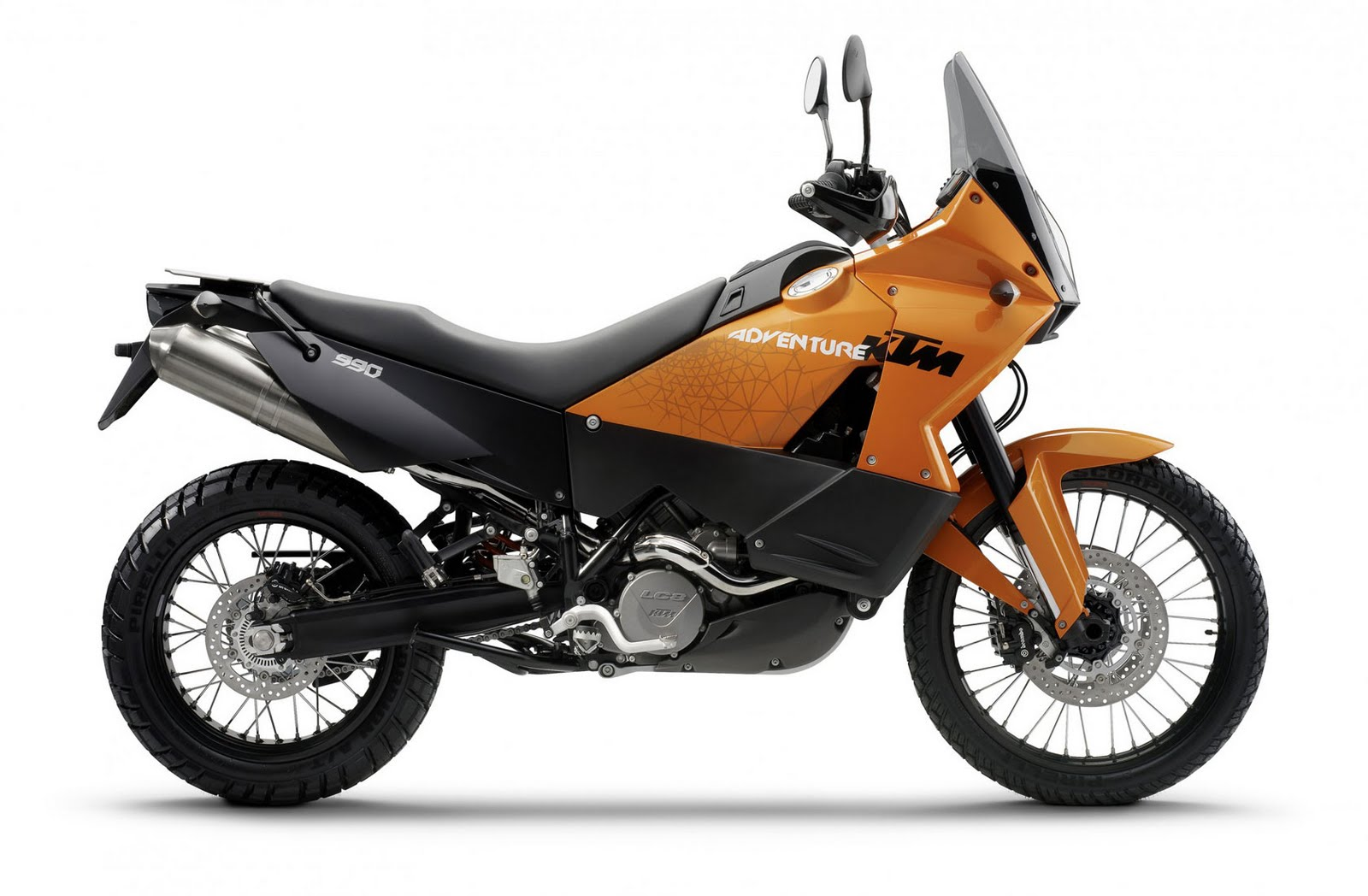 Motorcycle Pictures: KTM 990 Adventure 2011