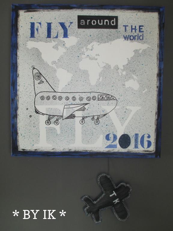 By ik flying art part 1 - Schilderij in de kamer ...