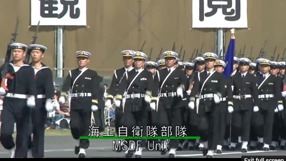 Diển Hành Quân Đội 2016 - Nhật Bản