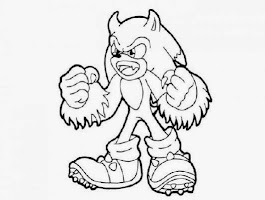 Sonic The Hedgehog Tails Coloring Pages