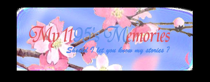 My 1195's Memories